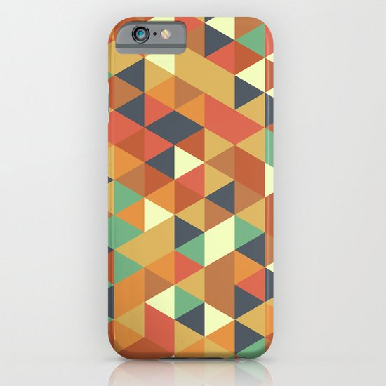 Triangle Pattern II iPhone & iPod Case