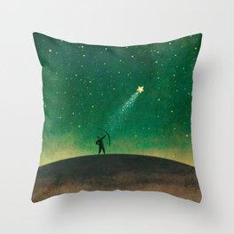 Star Archer Throw Pillow