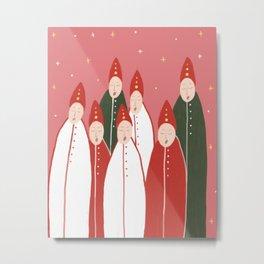 Christmas choir Metal Print