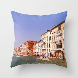 Grand Canal, Venice Throw Pillow