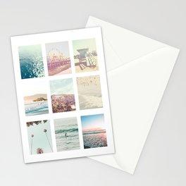 California Dream 9 Photo Print Stationery Cards