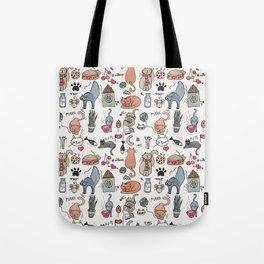 Cats Life Tote Bag