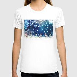 Dancing Snowman By Annie Zeno  T-shirt