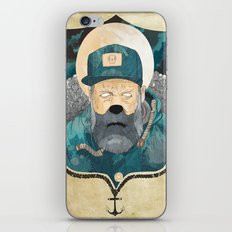Modern day Pirate. iPhone & iPod Skin