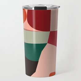 Geometric shapes Travel Mug