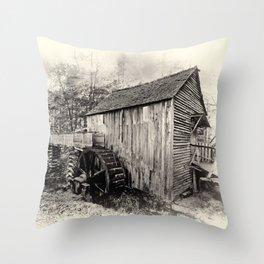 Vintage Mill Throw Pillow