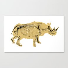 dissappearing act Canvas Print