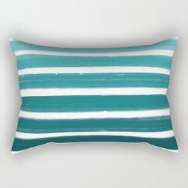 Teal Ombre Rectangular Pillow