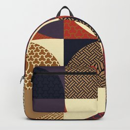 Japanese Patterns 04v Backpack