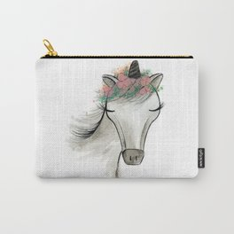 Zoey the Unicorn Carry-All Pouch