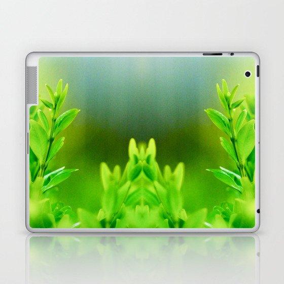 Green Harmony Laptop & iPad Skin