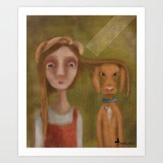 Lita und Laszlo Art Print