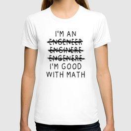 Engineer gift students and graduates diploma T-shirt