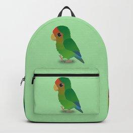 Cute peach faced lovebird Backpack