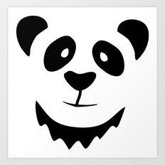 Pleased Panda Art Print