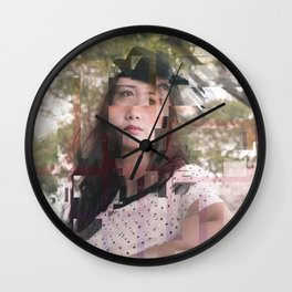 The Frezel Glitch Wall Clock