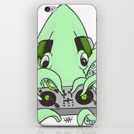 CHTULU DJ (alternate color Scheme) iPhone Skin