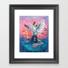 Symphony #4 AM Framed Art Print