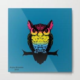 Pan Owl Metal Print