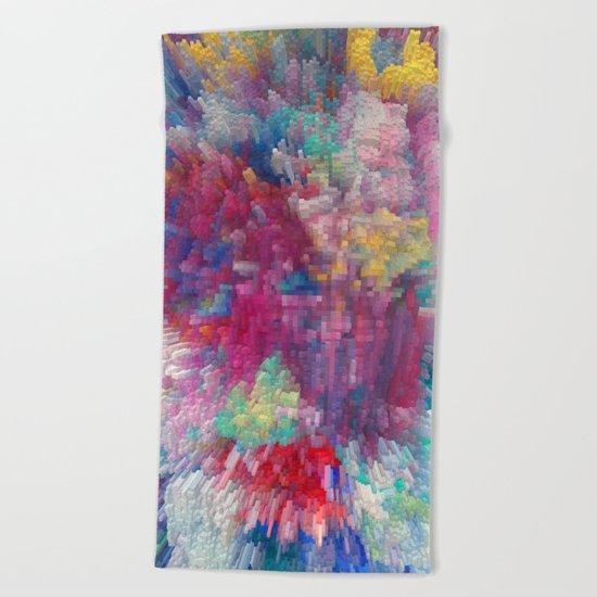Abstract 170 Beach Towel