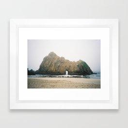 Pfeiffer Beach Framed Art Print