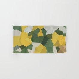 Crystal Moon Green Yellow Hand & Bath Towel