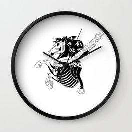 Cursed Carousel Horse Wall Clock