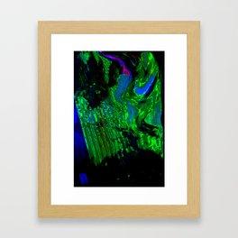 ALTERED PIXL STATES XI [BLUE PEARL] Framed Art Print