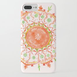 how strange it is to be anything at all iPhone Case
