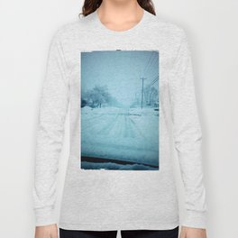 An Icy road Long Sleeve T-shirt