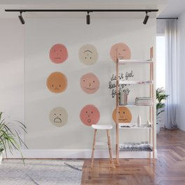 Feelings Wall Mural