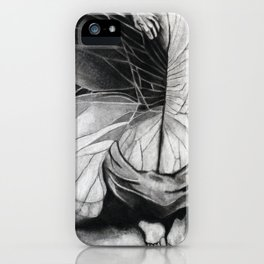 Metamorphosis // charcoal  iPhone Case