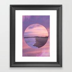 Mexican Sunset Framed Art Print