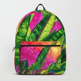 Bird of paradise flower Backpack