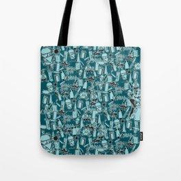 TEAL VANDAL CLASSICS Tote Bag