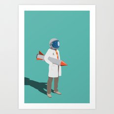 Spaceman of Bohemia Art Print