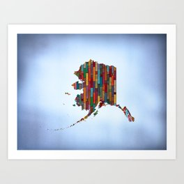 State of Mind - Alaska Art Print