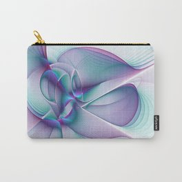 A Colorful Beauty, Abstract Fractal Art Carry-All Pouch