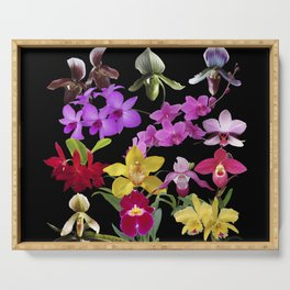 Orchids Galore Serving Tray