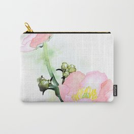PINK BUTTERCUP Carry-All Pouch