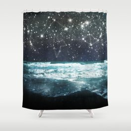 The Greek Upon the Stars Shower Curtain