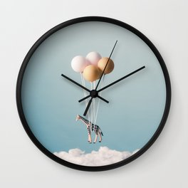 Giraffe's Dream Wall Clock