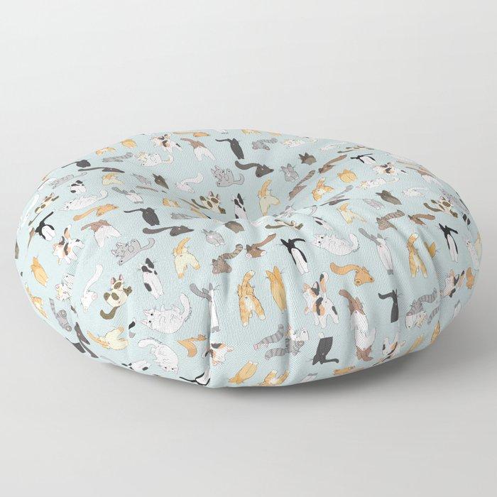 Cat Butts Floor Pillow