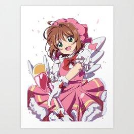 Sakura Kinomoto Art Print