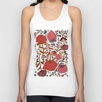 number Tank Tops featuring Nature number 2. by Jo Cheung Illustration