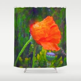 Ode of Remembrance Shower Curtain