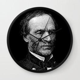 William Tecumseh Sherman Graphic Wall Clock