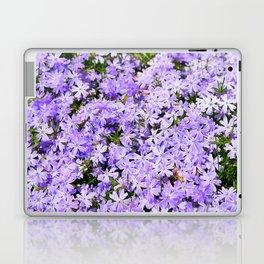 Purple Flowers | Lavender Flox | Pantone Purple | Spring Floral Laptop & iPad Skin