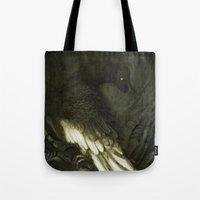 monster Tote Bags featuring Monster by Jana Heidersdorf Illustration