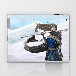 Huntress in the snow Laptop & iPad Skin